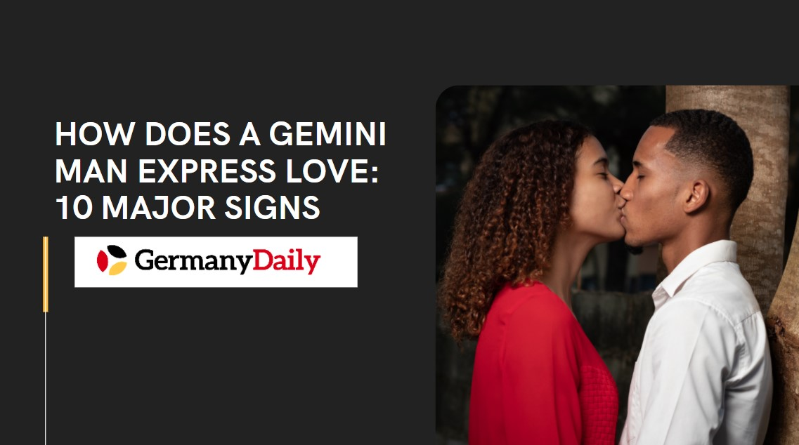 How Does A Gemini Man Express Love