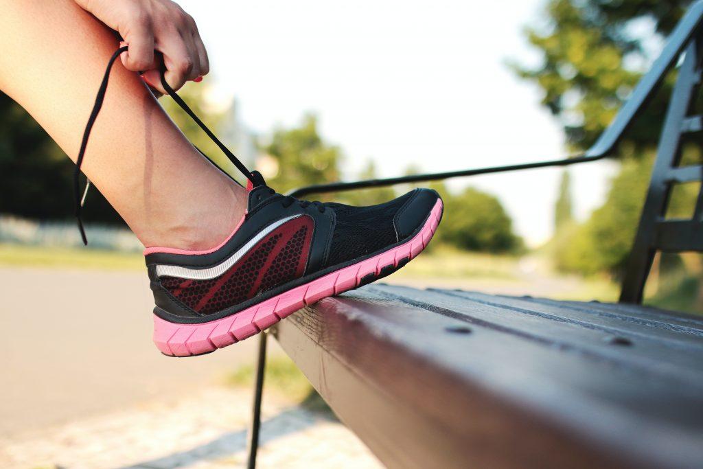When was running invented?
